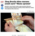 """""""Could Commission President Jean-Claude Juncker urge non-Eurozone states to adopt the common currency? Croatia is not ready yet."""""""